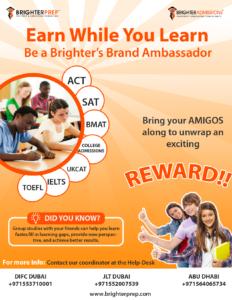 Brighter prep Brand Ambassador form